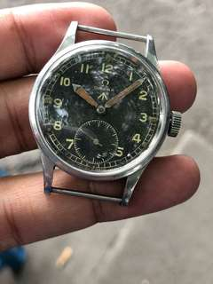 "Vintage Omega Military ""WWW"" Watch Super Rare"
