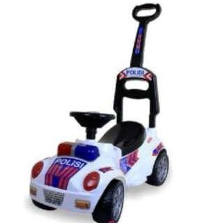 Mainan Anak Mobil Tunggang model Polisi