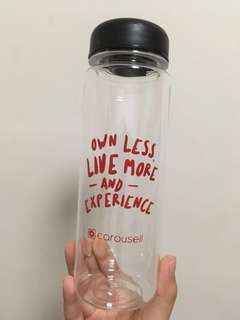 Carousell 水樽 水瓶 連布袋 Water Bottle
