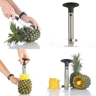 Pineapple corer & pineapple slicer