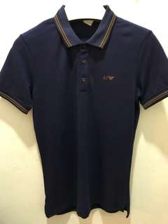 🆕 Authentic ARMANI JEANS Polo Tee