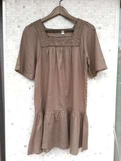 🚚 全新 自然風格繡花洋裝 #女裝半價拉