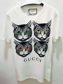 🆕 🎉🛍 Authentic GUCCI MYSTIC Cat Tee