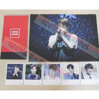 [CRAZY DEAL 90% OFF FROM ORIGINAL PRICE][READY STOCK]BTS JUNGKOOK KOREA FANSITE DESK CALENDER 1PC+FOLDED POSTER 1PC+POLAROID 5PC; ORIGINAL FR KOREA (PRICE NOT INCLUDE POSTAGE); POSLAJU:PENINSULAR AREA :RM10/SABAH SARAWAK AREA: RM15