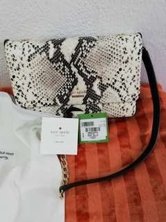AUTHENTIC KATE SPADE- Emerson Snake_embossed lorie