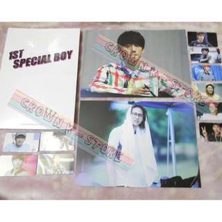 [CRAZY DEAL 90% OFF FROM ORIGINAL PRICE][READY STOCK]B1A4 KOREA FANSITE PHOTOBOOK 1PC+MINI POSTER 2PC+ PHOTO CARD SET; ORIGINAL FR KOREA (PRICE NOT INCLUDE POSTAGE); POSLAJU:PENINSULAR AREA :RM10/SABAH SARAWAK AREA: RM15