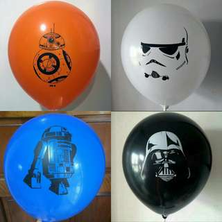 🚚 Star Wars Latex Balloons
