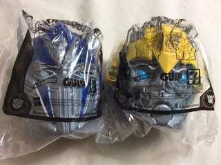 Transformers: The Last Knight - Optimus Prime & Bumblebee Cup Holder Set