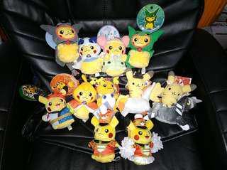 Pokemon: Official Pokémon Center Pikachu Plush Mascot Keychains