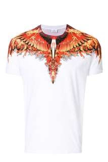 🆕 Authentic MARCELO BURLON Flames Wings Tee