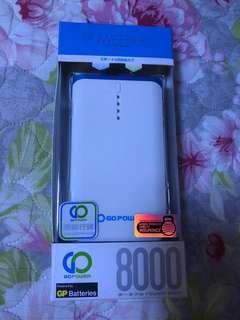 原廠行貨 Power Go 8000 mAh By GP Batteries