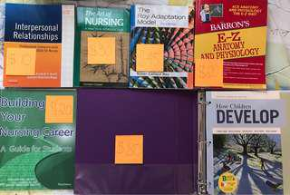 First Year Nursing Textbooks