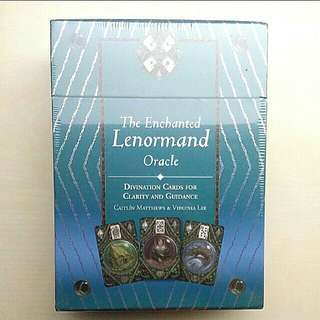 [LARGE DISCOUNT] RARE FIRST EDITION OOP The Enchanted Lenormand Oracle Deck Box Set, Fortune Telling, Divination, Tarot, NEW AND SEALED