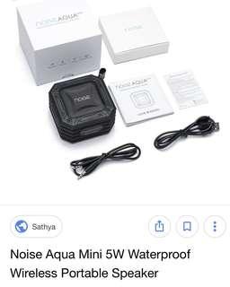 全新 Noise Aqua waterproof Wireless Speaker