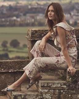 Zimmermann Winsome Apron Floral Jumpsuit - Size 0 Aus 6/8 RRP $700 Playsuit