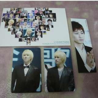 [CRAZY DEAL 90% OFF FROM ORIGINAL PRICE][READY STOCK]SUPER JUNIOR EUNHYUK KOREA FANSITE PHOTOBOOK 1PC+ PHOTO CARD SET; ORIGINAL FR KOREA (PRICE NOT INCLUDE POSTAGE); POSLAJU:PENINSULAR AREA :RM15/SABAH SARAWAK AREA: RM20