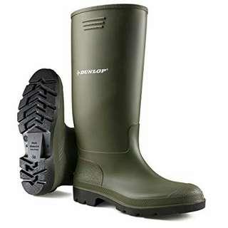 🚚 近全新 Dunlop 雨靴 size:8/42 #男裝半價拉