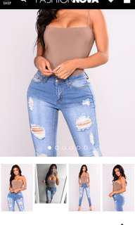 don't be square fashion nova bodysuit