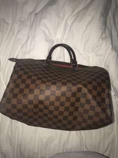 Genuine Louis Vuitton Speedy 35