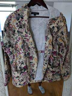 margot floral canvas jacket