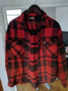 urban outfitters plaid button down