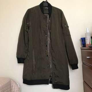 Long Khaki Coat