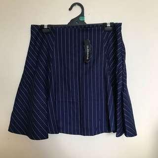 New Glassons stripe Skirt