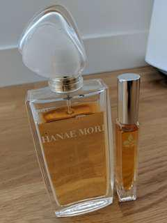 hanae mori and vanilla roll on