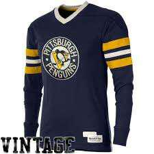 vintage mitchell and ness pittsburgh penguins