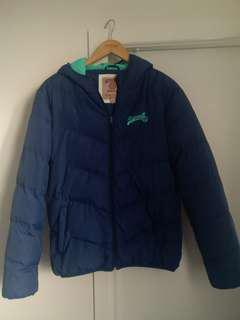 Russell athletic puffer jacket