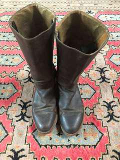 Frye boots 7.5 - well worn see photos