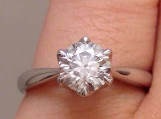GIA 18K 卡裝天然鑽石戒指