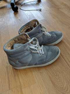 real margiela sneakers - all leather size 38