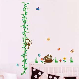 Height Measurement wall sticker for kids