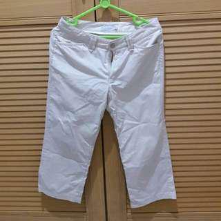 summer cropped chino pants