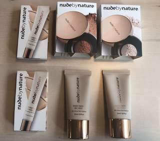 🌿NUDE BY NATURE MAKEUP🌿