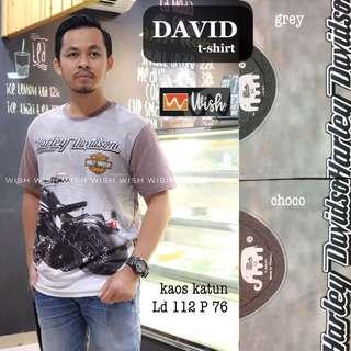 T shirt pria style produk import