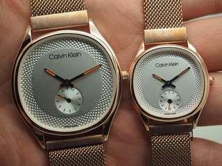 Ck watches gold