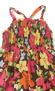 Gymboree floral summer dress size 10