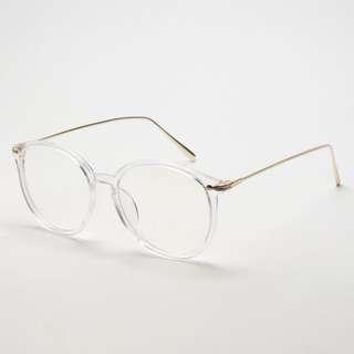 [PO] Ulzzang Clear Transparent Glasses