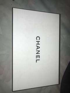 Chanel Box and sample