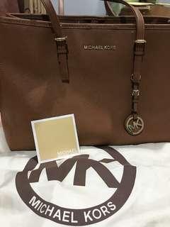 MK Jetset Travel Tote Bag