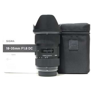 Sigma 18-35mm F1.8 DC HSM ART Lens For Nikon Mount