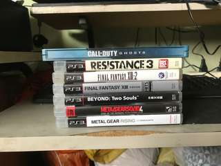 6pc ps3  2nd games