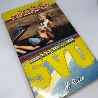 Sweet Valley University - Road Trip - No Rules