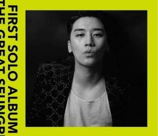 SEUNGRI FIRST SOLO ALBUM [THE GREAT SEUNGRI]