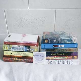 Pre loved YA Books