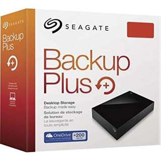 Seagate 4 TB Backup Plus Hub Desktop Drive HDD