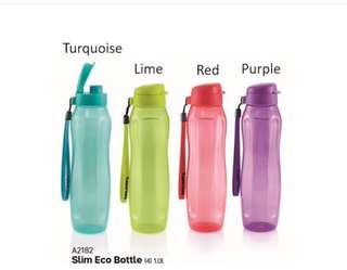 Tupperware slim Eco Bottle 1L
