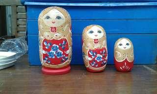 Pajangan boneka rusia